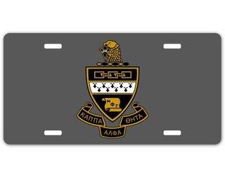 Kappa Alpha Theta Crest - Shield License Plate