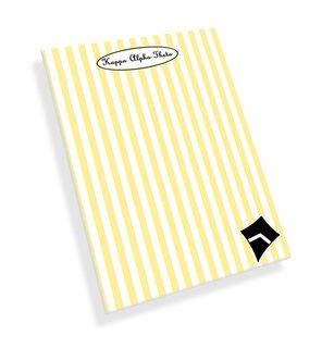Kappa Alpha Theta Mascot Notepad