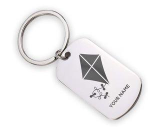 Kappa Alpha Theta Mascot Stainless Keychain