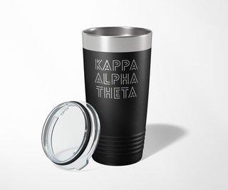 Kappa Alpha Theta Modera Tumbler