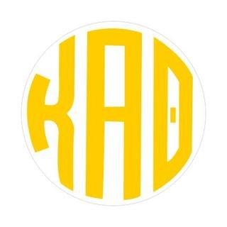 Kappa Alpha Theta Monogram Decal