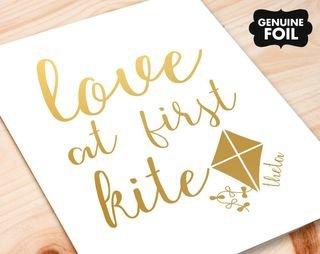 Kappa Alpha Theta Motto Foil Print