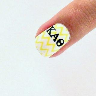 Kappa Alpha Theta Nail Strips