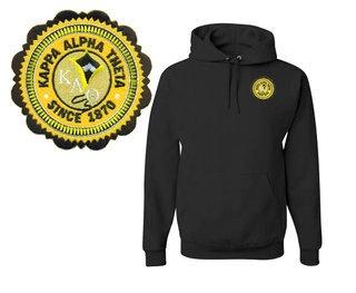 Kappa Alpha Theta Patch Seal Hooded Sweatshirt