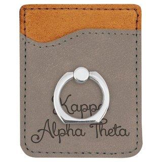 Kappa Alpha Theta Phone Wallet with Ring