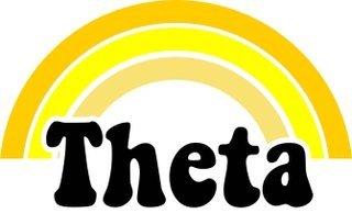 Kappa Alpha Theta Rainbow Decals