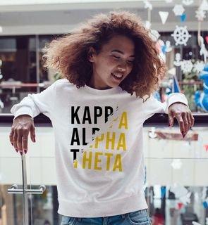 Kappa Alpha Theta Ripped Favorite Crewneck