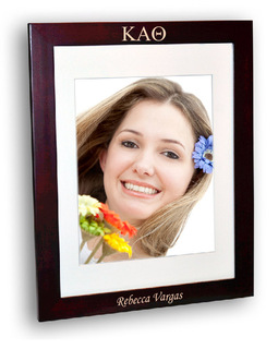 Kappa Alpha Theta Rosewood Picture Frame