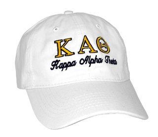Kappa Alpha Theta Script Cap