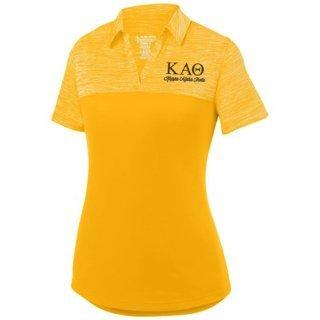 Kappa Alpha Theta Shadow Tonal Sport Polo