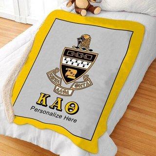 Kappa Alpha Theta Sherpa Lap Blanket
