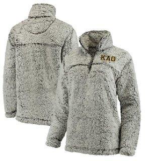 Kappa Alpha Theta Sherpa Quarter Zip Pullover