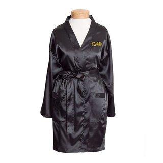 Kappa Alpha Theta Short Satin Robe