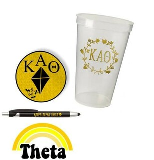 Kappa Alpha Theta Sorority For Starters Collection $9.99