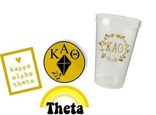 Kappa Alpha Theta Sorority Large Pack $15.00