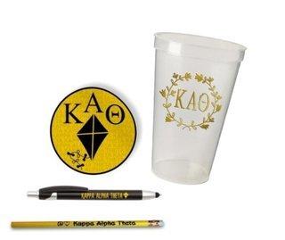 Kappa Alpha Theta Sorority Mascot Set $8.99