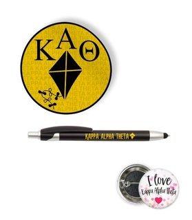 Kappa Alpha Theta Sorority Pack $5.99