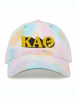 Kappa Alpha Theta Sorority Sorbet Tie Dyed Twill Hat
