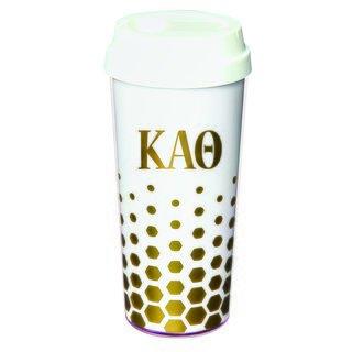 Kappa Alpha Theta Sparkle Coffee Tumblers