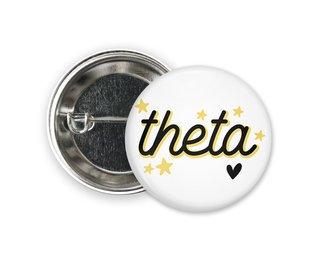Kappa Alpha Theta Star Button