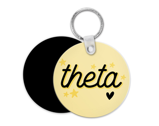 Kappa Alpha Theta Star Key Chain