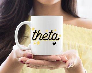 Kappa Alpha Theta Star Mug