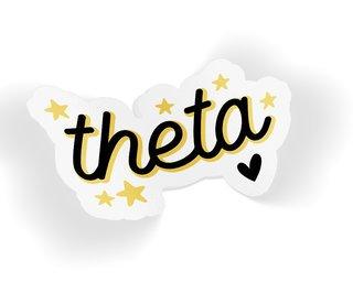 Kappa Alpha Theta Star Sticker