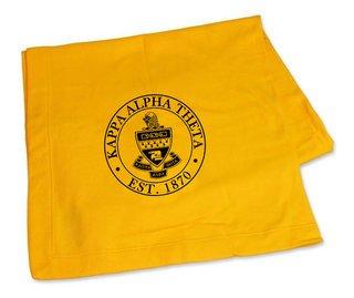 Kappa Alpha Theta Sweatshirt Blankets