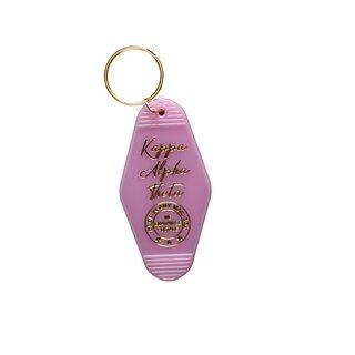 Kappa Alpha Theta Vintage Motel Keychain
