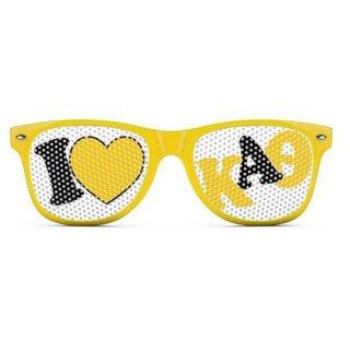 Kappa Alpha Theta Wayfarer Style Lens Sunglasses