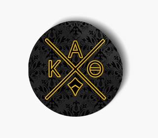 Kappa Alpha Theta Well Balanced Round Decals
