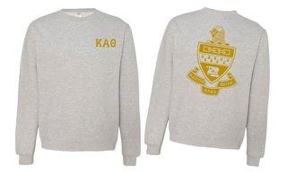 Kappa Alpha Theta World Famous Crest - Shield Crewneck Sweatshirt- $25!