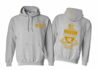 Kappa Alpha Theta World Famous Crest Hooded Sweatshirt- $35!