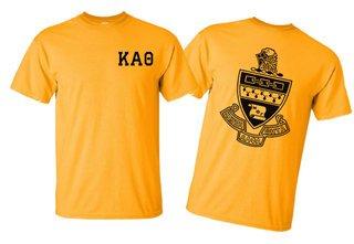Kappa Alpha Theta World Famous Greek Crest T-Shirts - $16.95!- MADE FAST!