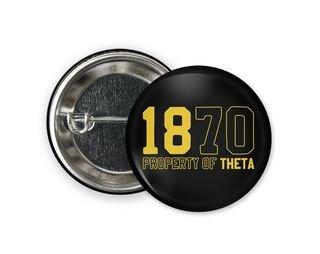 Kappa Alpha Theta Year Button
