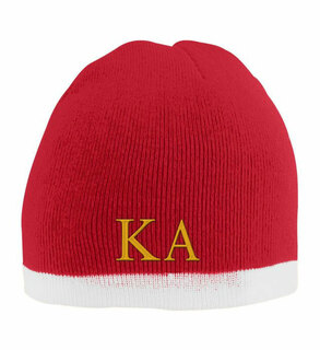 Kappa Alpha Two Tone Knit Beanie