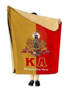 Kappa Alpha Two Tone Sherpa Lap Blanket