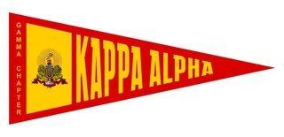 Kappa Alpha Wall Pennants