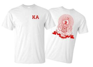 Kappa Alpha World Famous Crest - Shield Tee