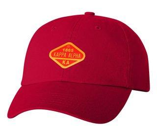 DISCOUNT-Kappa Alpha Woven Emblem Hat