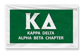 Kappa Delta 3 X 5 Flag