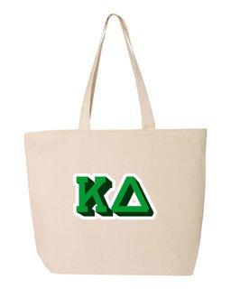 Kappa Delta 3D Letter Tote Bag