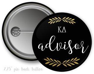 Kappa Delta Advisor Button