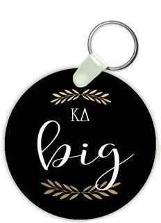 Kappa Delta Big Sister Keychain