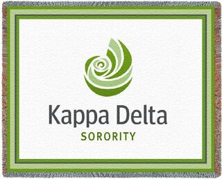 Kappa Delta Blanket Throw