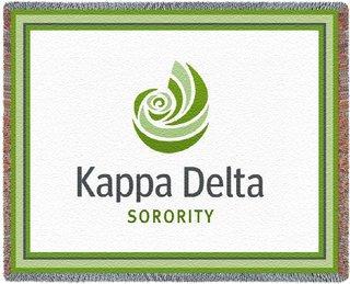 Kappa Delta Blanket Throw