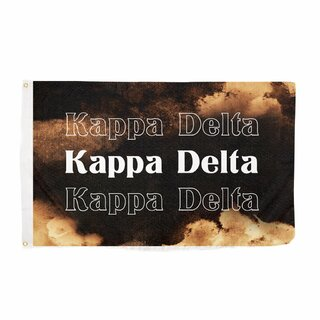Kappa Delta Bleach Wash Flag
