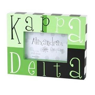 Kappa Delta Block Picture Frames