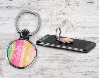 Kappa Delta Bright Stripes Phone Ring
