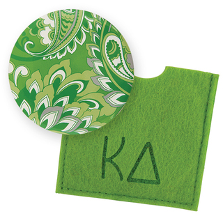 Kappa Delta Button Mirror